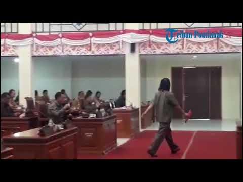 DPRD Landak Rapat Paripurna Pendapat Akhir Fraksi Tentang Raperda Pertanggungjawaban APBD 2019