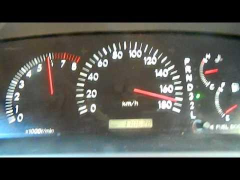Разгон Toyota Corolla Altis c двигателем 1ZZ-FE от 0-180 км/ч