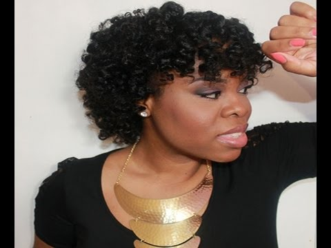 Twist Amp Curl Perm Rod Set Hair Tutorial On Quot Natural Hair
