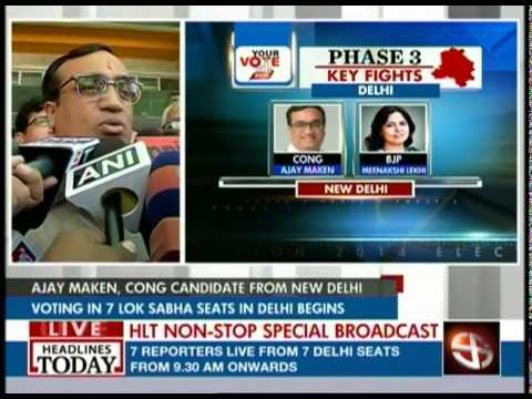 Congress will win all seven Lok Sabha seats in Delhi: Ajay Maken