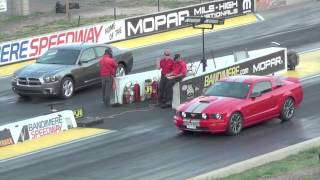 2012 Dodge Charger Vs Ford Mustang GT