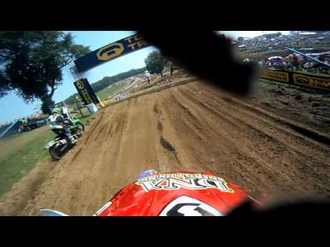 GoPro HD: Kyle Peters Race - Steel City Lucas Oil Motocross 2011