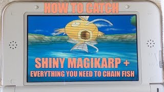 How To Catch Shiny Magikarp In Pokemon X Y! + COMPLETE