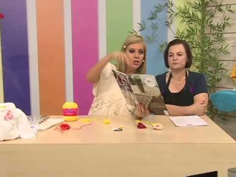 Presilha com Sandra Motti e Sandalia de ano novo com Andreia Bassan   Vitrine do artesanato na tv