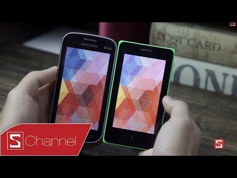 Schannel - Nên chọn mua Nokia X hay Galaxy Trend Lite - CellphoneS