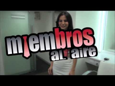 Miembros Al Aire - Martha Higareda en Miembros Al Aire
