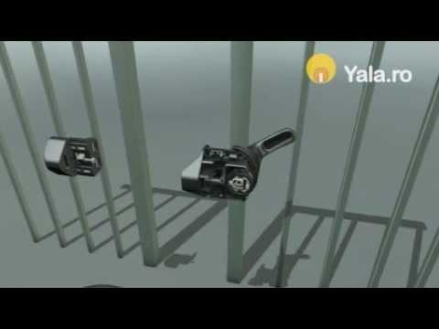 Yale de siguranta pentru porti tip gratii Z-Lokk - Yala.ro