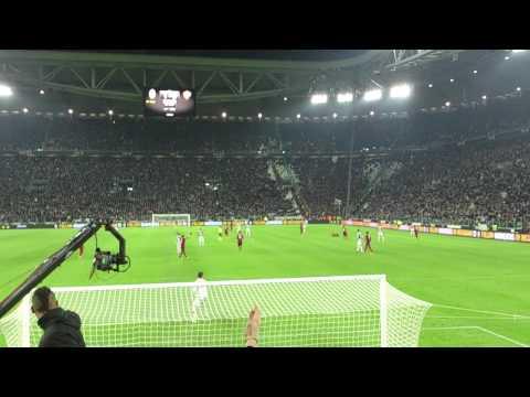 JUVENTUS 3-0 roma Curva Sud: Quant'è ridicolo De Sanctis!.mp4