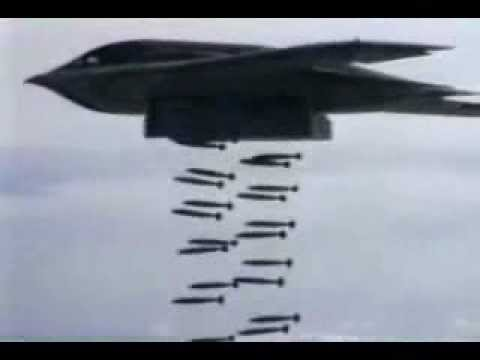 b 52 carpet bombing  52 Bomber Dropping Bombs Hqdefault.jpg