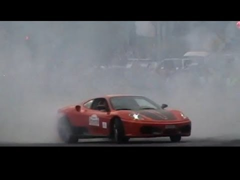 Supercars on the street 2011 - drifts burnouts accelerations PART 3