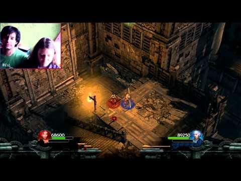 Видеопрохождение Lara Croft двумя игроками