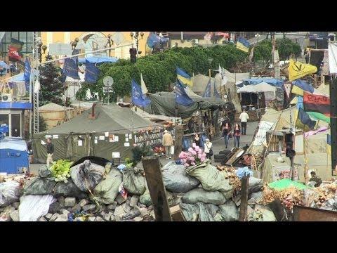 Maidan activists in Kiev react to referendum in eastern Ukraine