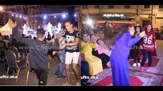 بالفيديو: التحيار و الشطيح فكازا مع الشعبي فعيد العرش |