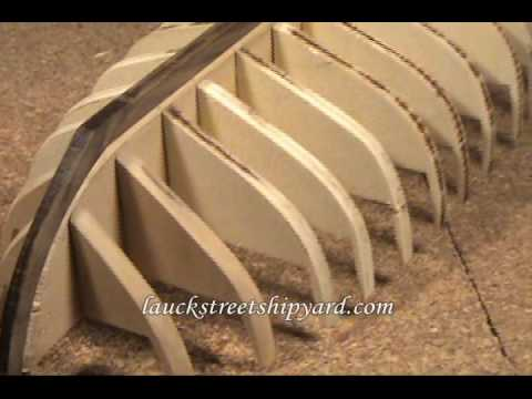 Ship Model - Armed Virginia Sloop, 1768 - Model Shipways,  Building the keel - Part 1