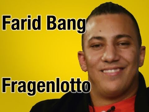 Farid Bang und die illegalen Downloads! - Fragenlotto