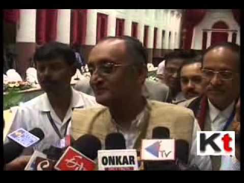 Amit Mitra in Re Budget interaction