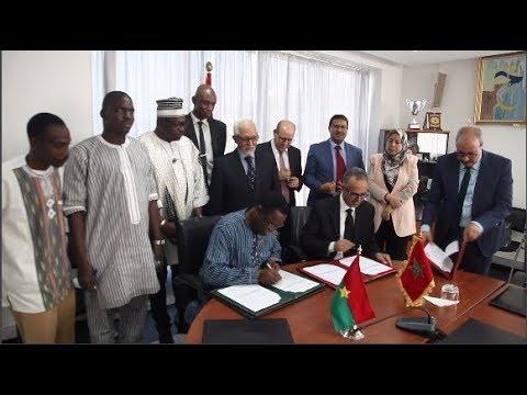 توقيع اتفاقية شراكة بين جهة الرباط-سلا- القنيطرة وجهة الأحواض العليا ببوركينافاصو