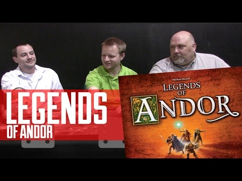 Legends of Andor Board Game Review
