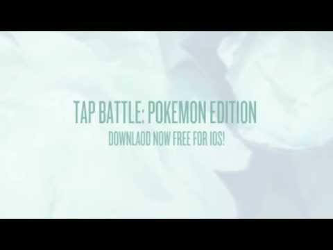 Tap Battle: Pokemon Edition Free iOS App
