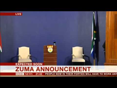 BBC News Channel - Nelson Mandela Has Died: Announcement 05/12/13