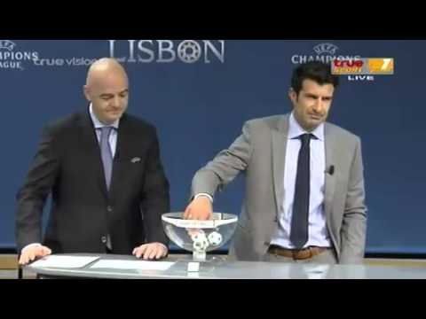 UEFA Champions League Quarter-finals Draw 2013/2014 (03/20/2014)