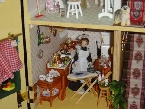 Casa de mu ecas miniaturas youtube - Munecos para casa de munecas ...