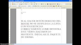 Como Configurar El Corrector Ortográfico En Openoffice