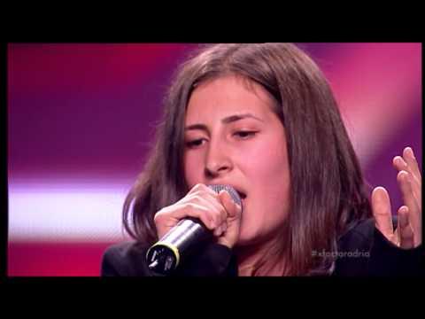 Marija Ickova (Whole Lotta Love - Led Zeppelin) - X Factor Adria - Sezona 1