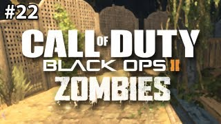 Buried Zombies: GARDEN OF DEATH (Black Ops 2)