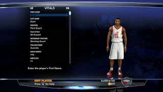 How To Create Dante Exum On NBA 2K14