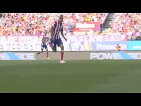 Samuel Garcia Goal Atletico Madrid vs Malaga 0-1 HD 11-05-2014