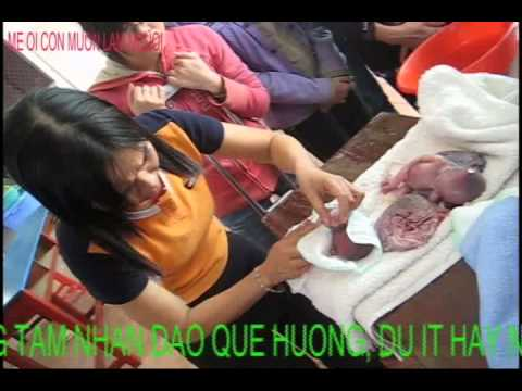 Xin Đừng Bỏ Con Mẹ Ơi- Huynh Tieu Huong nuôi trẻ cô nhi