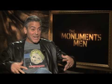 THE MONUMENTS MEN Interviews: George Clooney, Matt Damon, Cate Blanchett, Bill Murray and more!