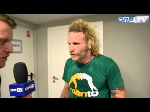 KSW 25: Matt Horwich unhappy with judges decision, wanted to make the