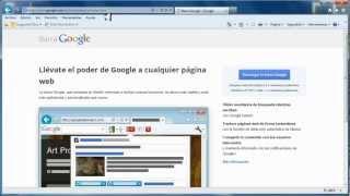 Como Instalar La Barra Google