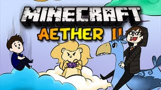 Minecraft Aether II - Ep. 25 w/ Chim, Double, & Clash - CRAZY LOOKER THINGS! (HD)