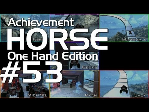 Achievement Hunter: Halo: Reach &#8211; Achievement HORSE #53 (One Hand Edition!)