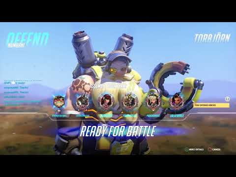 Overwatch Gameplay PVP - Competitive Season 8 Match 80