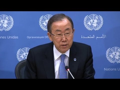 UN leader focuses on global crises in New Year's address