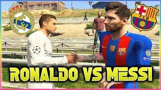 MESSI vs RONALDO El Clasico 2017 Football Challenges in GTA 5