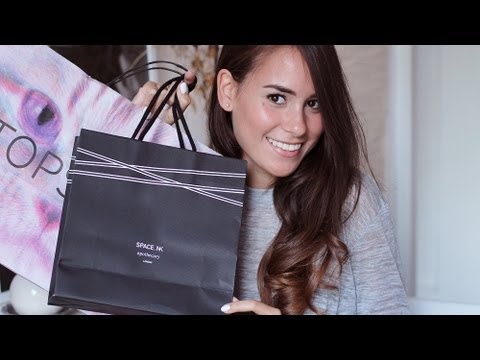 London Shopping Haul (Topshop, Boots, SpaceNK,... )