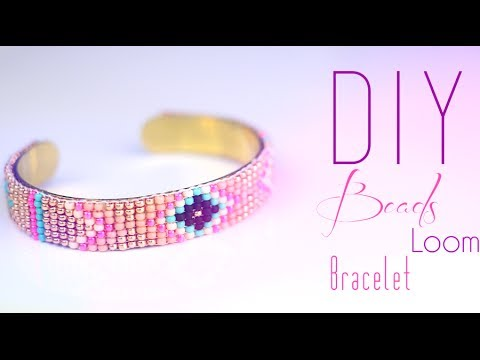 tutoriel diy bracelet en perle metier a tisser aztec. Black Bedroom Furniture Sets. Home Design Ideas