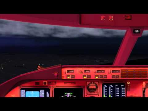 Byrdman Airbus 320 KNTD to KLAX (sunset flight)