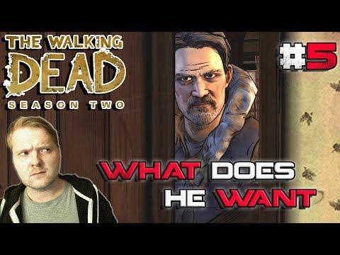 A Suspicious Guest? // Playing Walking Dead Telltale Series Season 2 #5