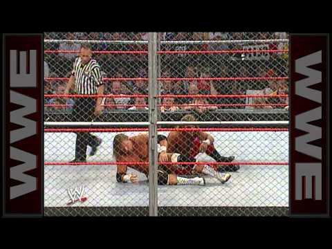 Shawn Michaels vs. Triple H: Bad Blood 2004 - Hell in a Cell Match