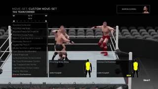 Even MORE New Moves Animations WWE 2K17 - Tag Team, Finishers, OMGs