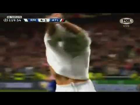 Real Madrid 4 Atletico madrid 1 CR7 Festejo del año!