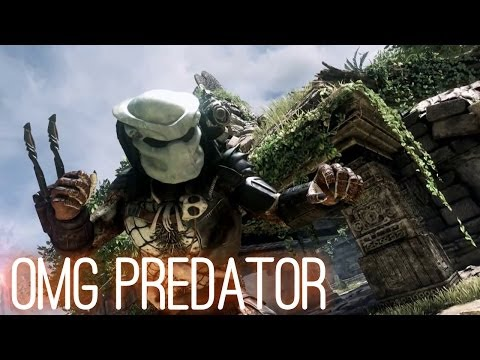 PREDATOR in Call of Duty Ghosts: Devastation DLC Gameplay Trailer