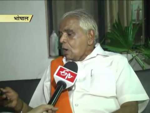 Babulal Gaur meets top police officials over crime in rural areas
