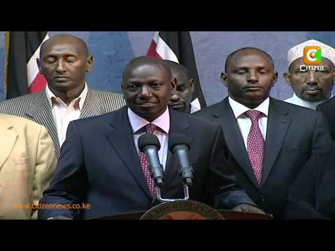 Ruto Brokers A Ceasefire In Moyale